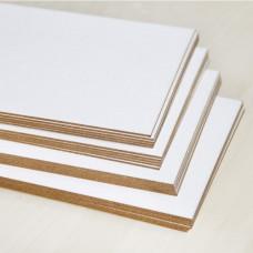 Заготовка для обложки блокнота из пивного картона, 1,2 мм.