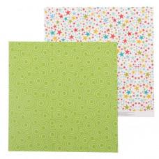 """Лист бумаги от АртУзор """"Звёздочки"""", 30,5 х 30,5 см."""