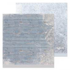 """Лист бумаги от АртУзор """"Зимние досочки"""", 30,5 х 30,5 см."""