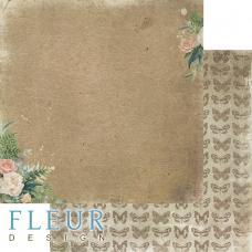 """Лист бумаги от Fleur Design """"Дары полей"""" Мой букет, 30 х 30 см."""
