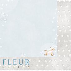 """Лист бумаги от Fleur Design """"Нежный возраст"""" Пузыри, 30 х 30 см."""