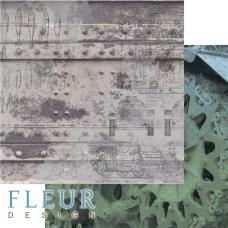 """Лист бумаги от Fleur Design """"Храбрые сердца"""" Танки, 30 х 30 см."""