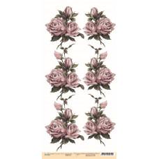 Лист односторонней бумаги 30x15 см. от Каралики Шарм (арт.012)