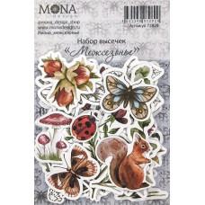 """Набор высечек от Mona Design """"Межсезонье"""""""