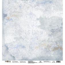 """Лист бумаги 30x30 см. от Mona Design Пальцем по стеклу """"Учат в школе"""""""