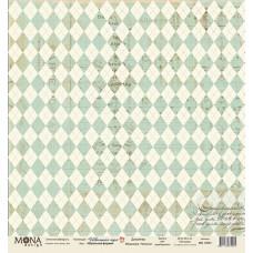 """Лист бумаги 30x30 см. от Mona Design Школьная форма """"Школьная пора"""""""