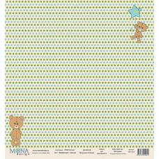 """Лист бумаги 30x30 см. от Mona Design Воображуля """"Малыш"""""""