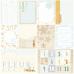 """Лист бумаги от Fleur Design """"В облаках"""" Карточки для мальчиков, 30 х 30 см."""