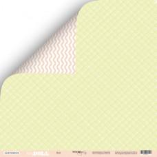 Лист двусторонней бумаги 30x30 см. от Scrapmir Doll Baby Doll