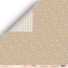 Лист двусторонней бумаги 30x30 см. от Scrapmir Doll Baby Cuties