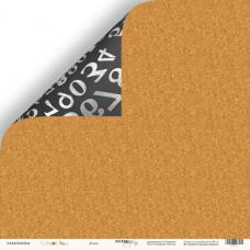 Лист двусторонней бумаги 30x30 см. от Scrapmir School Days Доска