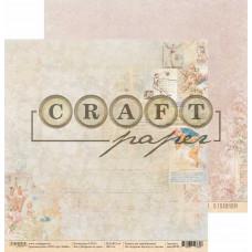 """Лист бумаги от CraftPaper """"СССР"""" Вырезки из газет, 30 х 30 см."""