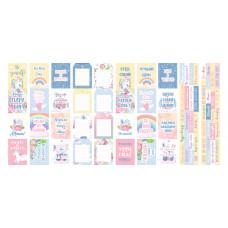 """Карточки для вырезания от Фабрики Декора """"Believe in miracle"""", 5 полос"""