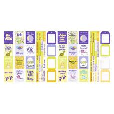 """Карточки для вырезания от Фабрики Декора """"Dino Baby"""", 5 полос"""