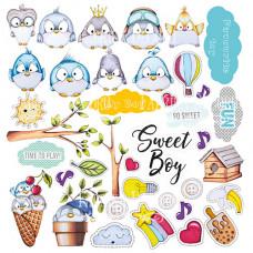 """Карточки для вырезания от Фабрики Декора """"My tiny sparrow boy"""", 30 х 30 см."""