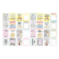 """Карточки для вырезания от Фабрики Декора """"My tiny sparrow girl"""", 5 полос"""