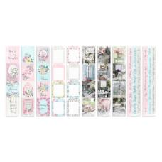 """Карточки для вырезания от Фабрики Декора """"Shabby garden"""", 5 полос"""