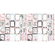 """Карточки для вырезания от Фабрики Декора """"Sensual Love"""", 5 полос"""