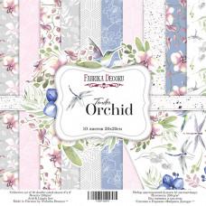 "Набор бумаги от Фабрики Декора ""Tender Orchid"" 10 листов 20 х 20 см."