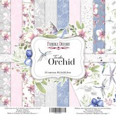 "Набор бумаги от Фабрики Декора ""Tender Orchid"" 10 листов 30 х 30 см."