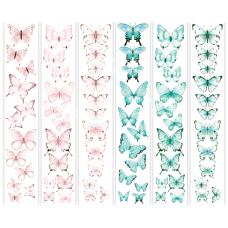 """Карточки для вырезания от Фабрики Декора """"Бабочки -4"""", 6 полос"""