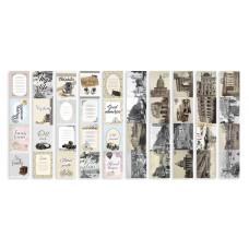 """Карточки для вырезания от Фабрики Декора """"Shabby Memory"""", 5 полос"""