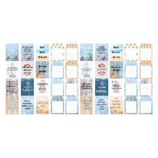 """Карточки для вырезания от Фабрики Декора """"Sea Breeze"""", 5 полос"""