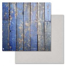 """Лист бумаги от ScrapMania """"Идеальный мужчина"""" Старая дверь, 30 х 30 см."""