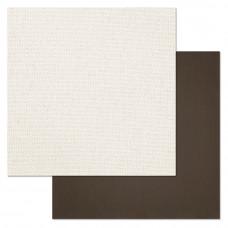 "Лист бумаги от ScrapMania ""Фономикс. Сканди"" Рогожка, 30 х 30 см."