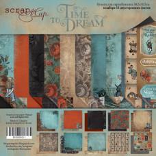 Набор двусторонней бумаги 30 х 30 см. от Scrapmir Time to Dream 10 листов