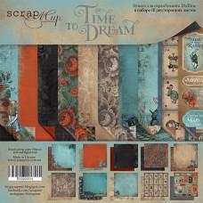 Набор двусторонней бумаги 20 х 20 см. от Scrapmir Time to Dream 10 листов