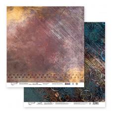 """Лист бумаги от Mr.Painter """"Механическое сердце"""" Лист 2, 30 х 30 см."""