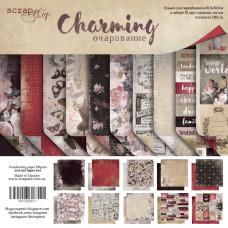 Набор двусторонней бумаги 30 х 30 см. от Scrapmir Charming 10 листов