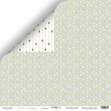 Лист двусторонней бумаги 30x30 см. от Scrapmir Boy or Girl Ромашка