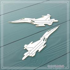 """Набор чипборда """"Военные самолеты"""" 2 элемента"""