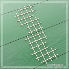 "Чипборд ""Клетка тетрадная"", 42 х 110 мм."