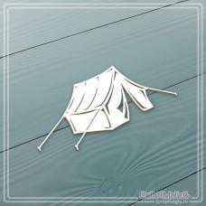 """Чипборд """"Палатка"""", 95 х 45 мм."""