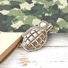 Армия. Граната с гравировкой