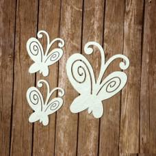Бабочки маленькие