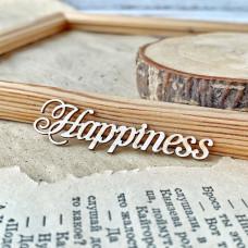 Надпись Happiness