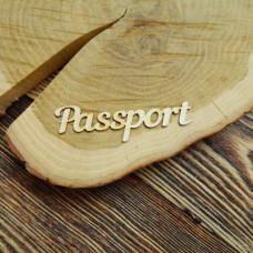 Надпись Passport
