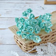 Цветок вишни средний, мятный цвет