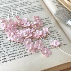 Цветочек маленький 13 мм., цвет розово-персиковый, 5 шт.