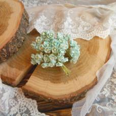 Цветок вишни мини, 1 см., мятный цвет