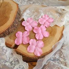 Гортензии 5 см., цвет розовый, 5 штук