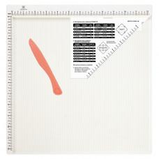 """Доска для биговки многофункциональная """"Рукоделие"""", 30,5 x 30,5 см."""