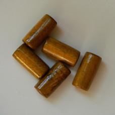 Набор бусин деревянных длинных