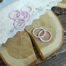 Кольца для альбомов розовые