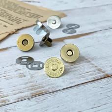 Магнитная кнопка, 1,4 см., золото