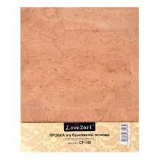 Пробка натуральная на бумажной основе, 20 х 25 см.